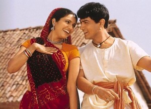 """Gracy Singh and Aamir Khan in """"Lagaan: Once Upon a Time in India."""""""