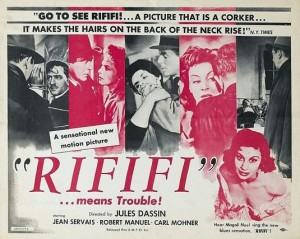 """Rififi"" -- The poster says it all."