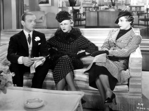 """Fred Astaire, Ginger Rogers and Irene Dunne in """"Roberta."""""""