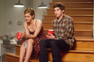 """Emma Watson as Sam and Logan Lerman as Charlie in """"The Perks of Being a Wallflower."""""""