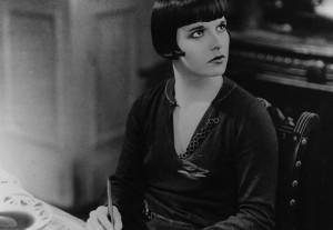 "Louise Brooks plays beauty queen Lucienne Garnier in ""Prix de Beauté."""
