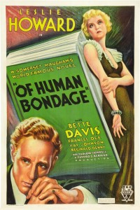 """The movie poster for """"Of Human Bondage."""""""