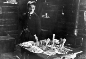 """Charlie Chaplin in """"The Gold Rush,"""" from 1925."""