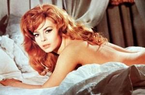 "Michele Mercier stars as Angelique in ""Angelique, Marquise des Anges."""