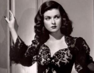 """Joan Bennett in """"The Woman in the Window."""""""
