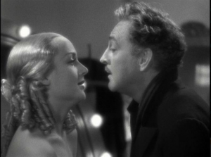"Carole Lombard and John Barrymore in ""Twentieth Century."""