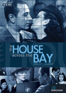 """The DVD cover for """"The House Across the Bay."""""""