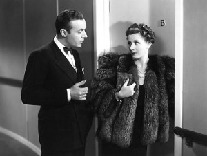 "Charles Boyer and Irene Dunne in ""Love Affair."""