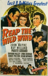 """Movie poster for """"Reap the Wild Wind."""""""