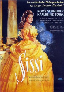 "The DVD cover for ""Sissi."""