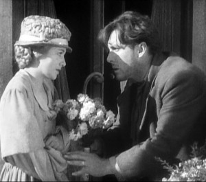 "Janet Gaynor and George O'Brien in ""Sunrise: A Song of Two Humans."""