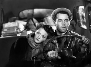"Sylvia Sidney and Henry Fonda take to the road in ""You Only LIve Once."""