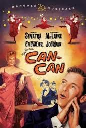 """The DVD cover for """"Can-Can."""""""