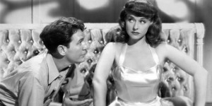 """Burgess Meredith tries to fool Paulette Goddard in """"On Our Merry Way."""""""