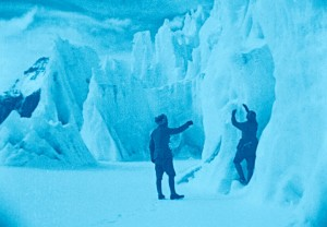 """A scene from """"The Epic of Everest."""""""