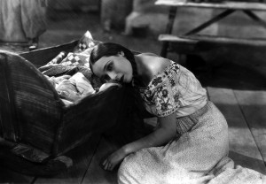"Dolores del Rio wants to be happy in ""Ramona."""