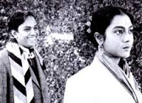 "Arun Mukherjee and Aleknanda Roy in ""Kanchenjungha."""