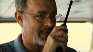 "Tom Hanks as ""Captain Phillips."""